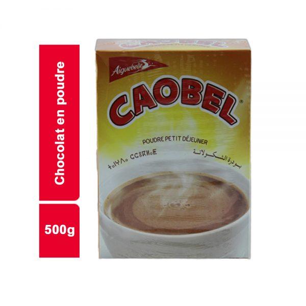 CHOCOLAT EN POUDRE CAOBEL PAQUET 500 GR