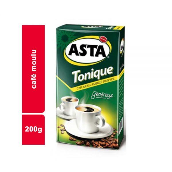 CAFE MOULU ASTA TONIQUE PAQUET 200 GR