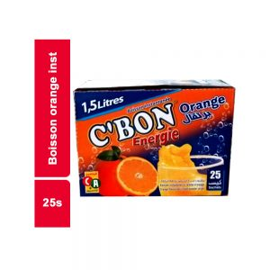 BOISS INST ORANGE 12,5GR C'BON PAQUET 25 SACHETS