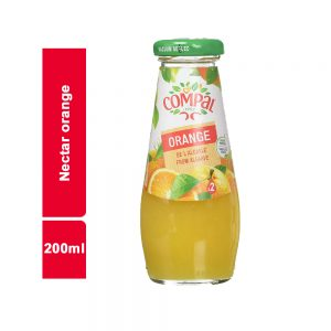 JUS NECTAR ORANGE COMPAL BOUTEILLE 200 ML