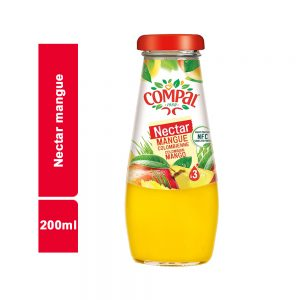 JUS NECTAR MANGUE COMPAL BOUTEILLE 200 ML
