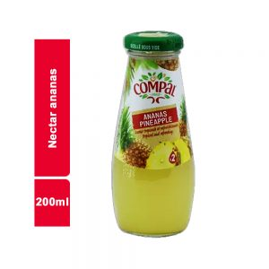 JUS NECTAR ANANAS COMPAL BOUTEILLE 200 ML