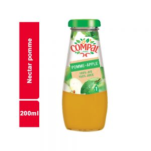 JUS NECTAR POMME COMPAL BOUTEILLE 200 ML