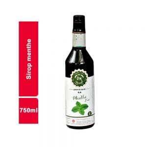 SIROP MENTHE GYM BOUTEILLE 750 ML