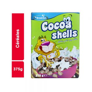 CEREALES MR BREAKFAST CACAO SHELLS PAQUET 375 GR