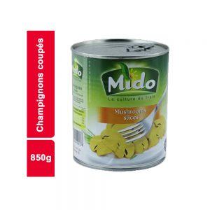 CHAMPIGNON COUPE MIDO BOITE 850 GR