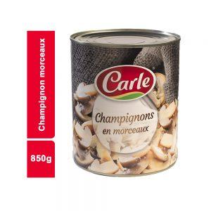 CHAMPIGNON MORCEAUX CARLE BOITE 850 GR