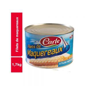 FILET DE MAQUEREAUX CARLE BOITE 1,7 KG