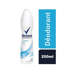 DEODORANT WOMEN COTTON DRY REXONA FLACON 200 ML