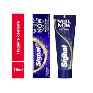 DENTIFRICE  SIGNAL WHITE NOW GOLD TUBE 75 ML
