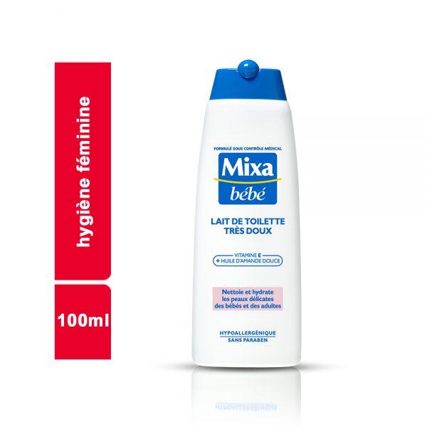 LAIT DE TOILETTE MIXA BEBE FLACON 100 ML