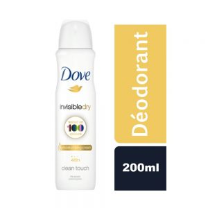 DEODORANT INVISIBLE DRY DOVE FLACON 200 ML