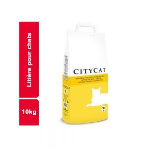 LITIERES POUR CHAT CITY CAT SAC 10 KG