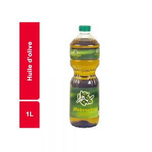 HUILE D'OLIVE MABROUKA BOUTEILLE 1 L