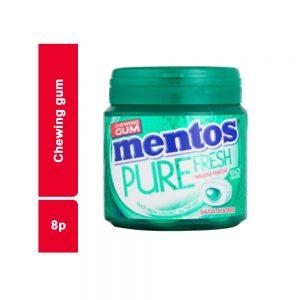 CHEWING-GUM BOITE 24 GR MENTOS PIECE