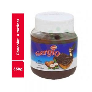 CHOCOLAT A TARTINER SERGIO BOITE 350 GR