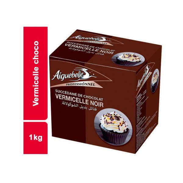 VERMICELLE CHOCO AIGUEBELLE PAQUET 1 KG