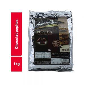 CHOCOLAT DROPS AIGUEBELLE SACHET 1 KG