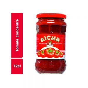 TOMATE CONCENTREE AICHA BOCAL 72 CL