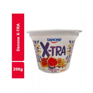 YAOURT X-TRA FIGUE MIEL GRANOL DANONE POT 200 GR