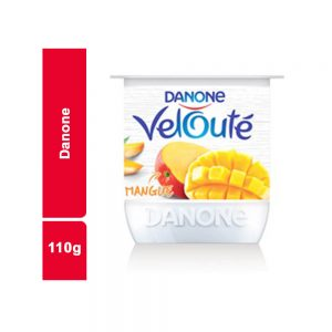 YAOURT VELOUTE MANGUE DANONE POT 110 GR
