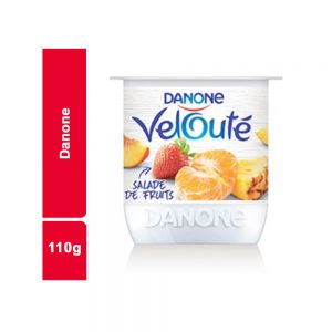 YAOURT VELOUTE SALADE FRUITS DANONE POT 110 GR