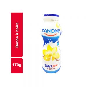 YAOURT A BOIRE VANILLE DANONE BOUTEILLE 170 GR