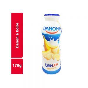 YAOURT A BOIRE BANANE DANONE BOUTEILLE 170 GR