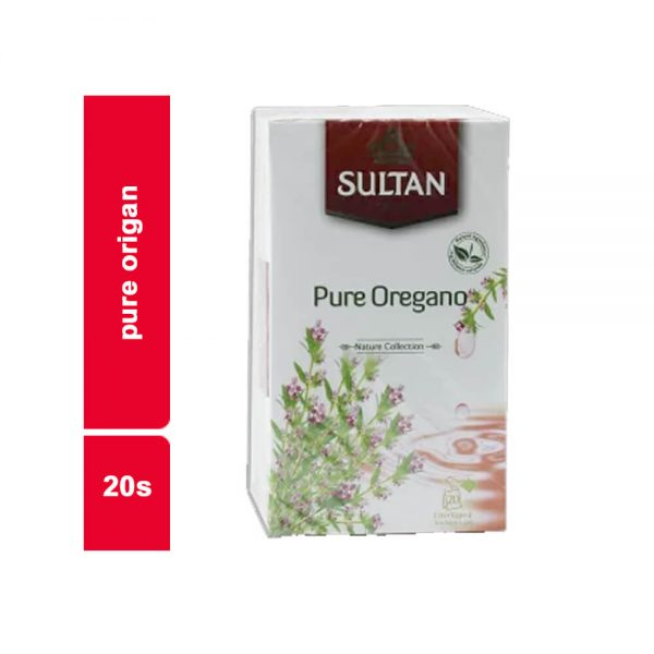 INFUSIONS NATURE PURE ORIGAN SULTAN PAQUET 20 SACHETS