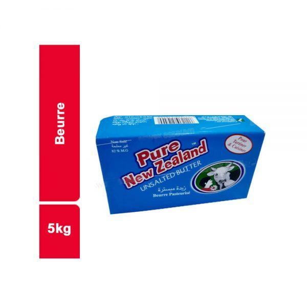 NEW ZELAND PURE BEURRE BLOC 5 KG