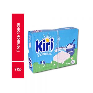 FROMAGE FONDU KIRI PAQUET 72 PIECES