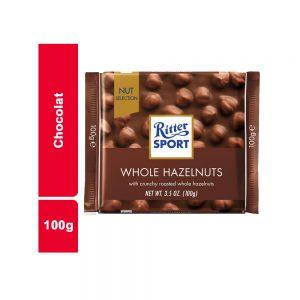 CHOCOLAT 100 GR RITTER PIECE