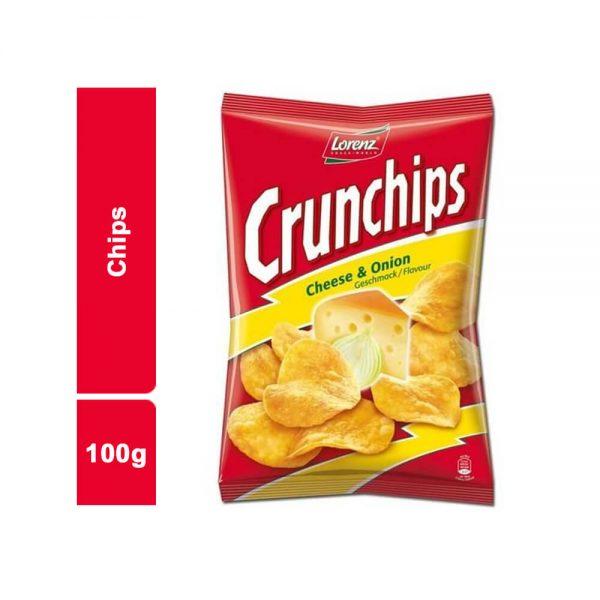 CHIPS OIGNON CRUNCHIPS SACHET 100 GR
