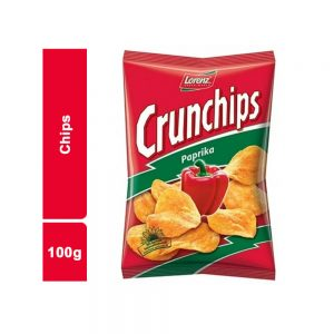 CHIPS PAPRICA CRUNCHIPS SACHET 100 GR
