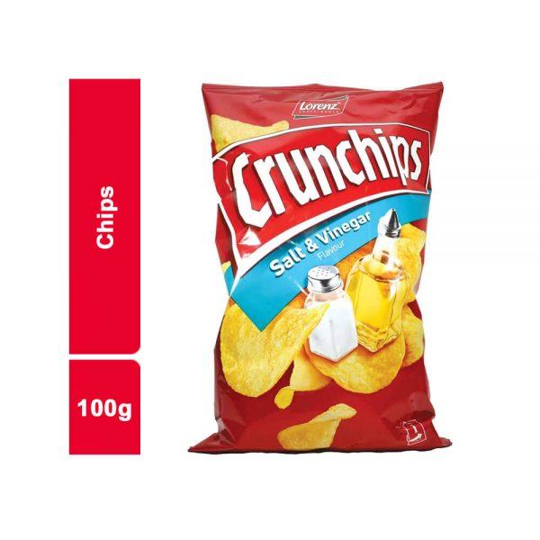 CHIPS SALE CRUNCHIPS SACHET 100 GR