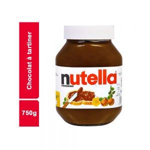 CHOCOLAT A TARTINER NUTELLA BOCAL 750 GR