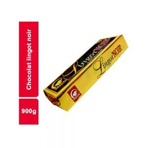 CHOCOLAT LINGOT NOIR MACAO PAQUET 900 GR