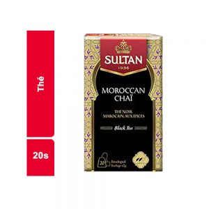 THE NOIR SULTAN PAQUET 20 SACHETS