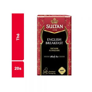 THE N ENGLISH SULTAN PAQUET 20 SACHETS