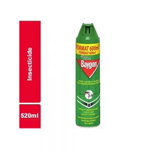 INSECTICIDE BAYGON FLACON 520 ML