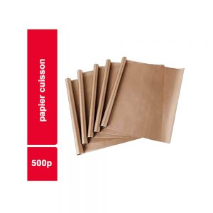 PAPIER CUISSON  PAQUET 500 PIECES