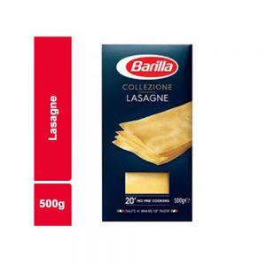 PATES LASAGNE BARILLA PAQUET 500 Gr