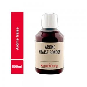 AROME ALIMENTAIRE FRAISE AROME DE FRANCE BOUTEILLE 500 ML