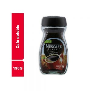 CAFE SOLUBLE NESCAFE STAND BOCAL 190GR