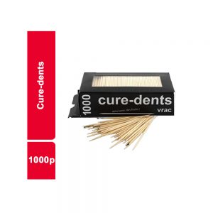 CURE DENTS  PAQUET 1000 PIECES
