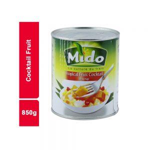 COCKTAIL DE FRUITS MIDO BOITE 850 GR