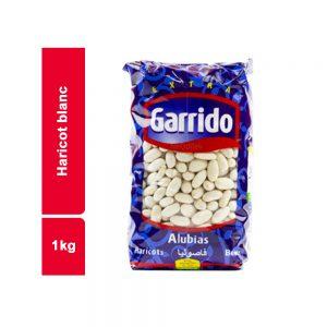 HARICOTS BLANCS GARRIDO SACHET 1 KG