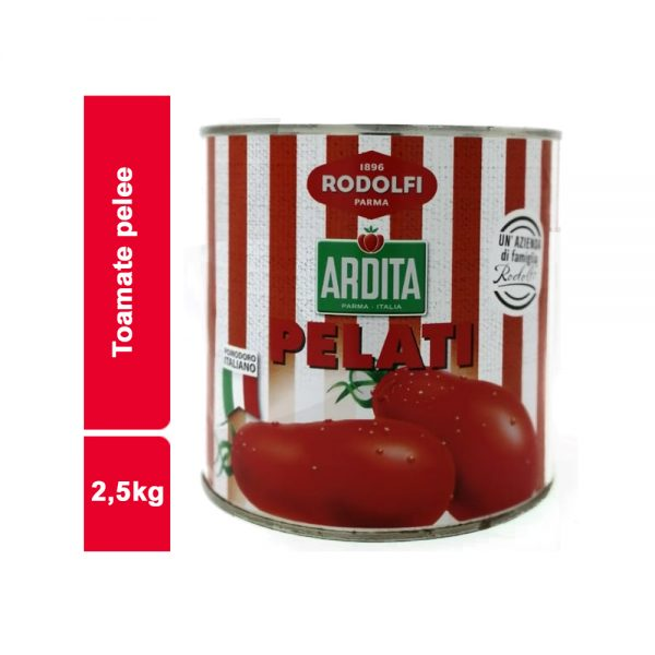TOMATE PELEE RODOLFI  BOITE 2.5 KG