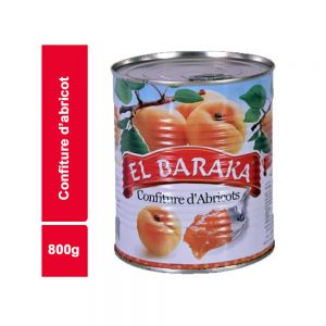 CONFITURE ABRICOT EL BARAKA BOITE 800 GR