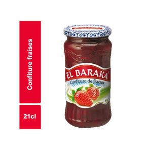 CONFITURE FRAISE EL BARAKA BOCAL 21 CL